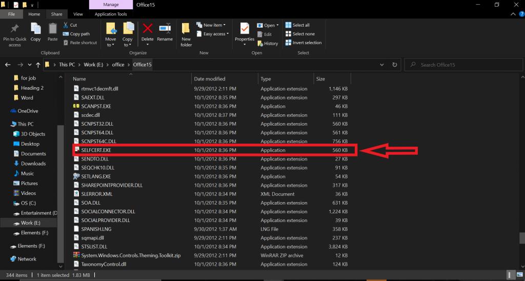 "Find ""selfcert.exe"" to make custom certificates"